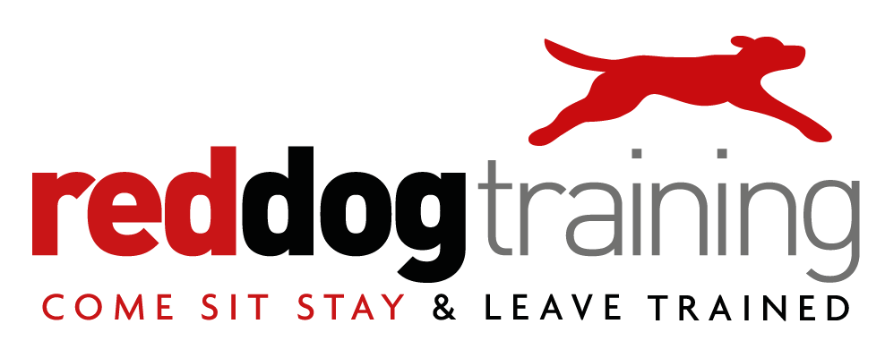 Much Hadham Fete Red Dog Training Logo