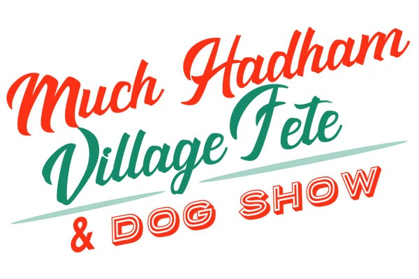 Much Hadham Fete Logo White